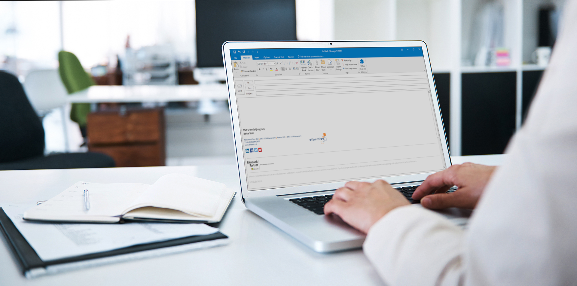Hyperlinks opmaken in Microsoft Outlook