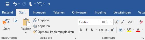 Ribbon Microsoft Word