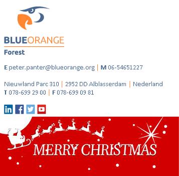 E-mailhandtekening met tijdelijke email banner Outlook